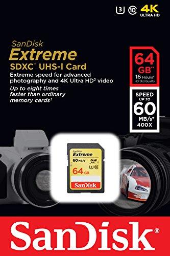Sandisk-Extreme-SDSDXN-064G-G46-64GB-UHS-I/U3-SDHC-Memory-Card