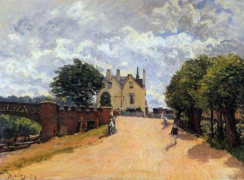 alfred-sisley-inn-at-east-molesey-with-hampton-court-bridge-185-x-245-premium-canvas-print-gallery-w