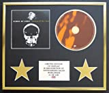 KINGS OF LEON/CD DISPLAY/LIMITED EDITION/COA/BECAUSE OF THE TIMES
