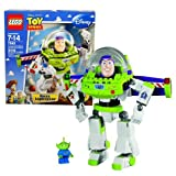 Lego Year 2010 Disney Pixar Toy Story Series 7 Inch Tall Figure Set # 7592 - Construct-a-Buzz BUZZ LIGHTYEAR With...