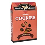 Healthy Baker All-Natural Dog Cookies, Carob Spot, 14-Ounce