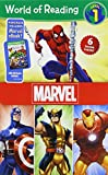 World of Reading Marvel Boxed Set: Level 1: Purchase Includes Marvel eBook!