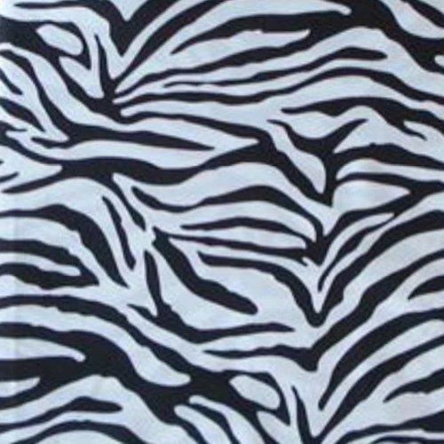 Black White Microfiber Zebra XL Twin Sheet Set (3 Pc Set) (Zebra Sheet Set Twin compare prices)