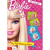 Barbie My Fab Memory Card, Multi Color