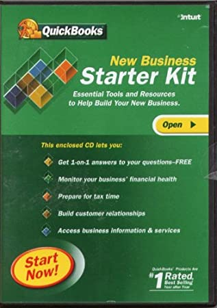 QuickBooks New Business Starter Kit