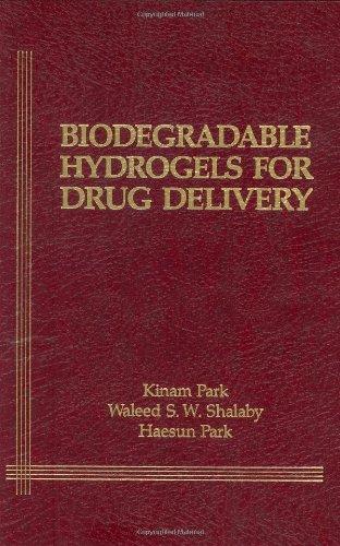 Biodegradable Hydrogels For Drug Delivery
