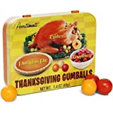 Thanksgiving Gumballs- Turkey, Cranberry, & Pumpkin Pie Flavored Gum