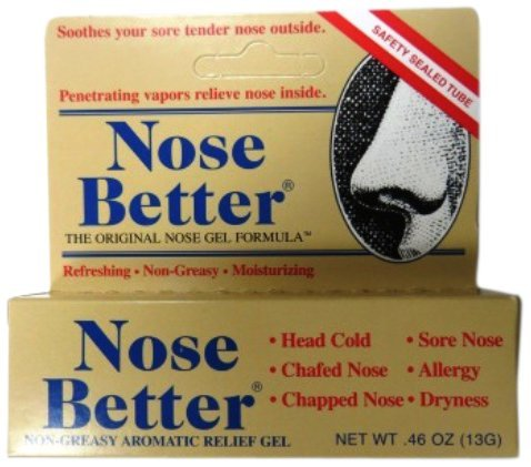 Nose Better Non-Greasy Aromatic Relief Gel (Pack Of 2)
