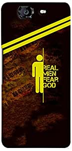 PrintVisa Boy Quotes Men Case Cover for Micromax Canvas Knight A350
