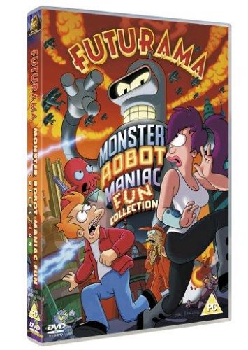 Futurama Monster Robot Maniac Fun Collection