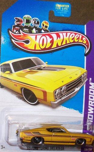 Hot Wheels HW Showroom 236/250 '69 Ford Torino Talladega