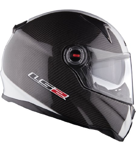 LS2 FF396.2 CT2 Carbon TT Motorcycle Helmet L Carbon
