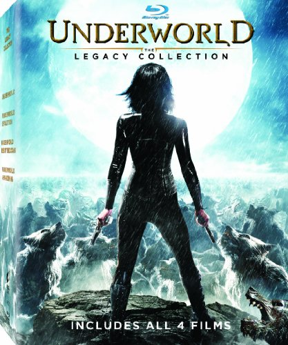 Underworld: The Legacy Collection (Underworld / Underworld: Evolution / Underworld: Rise of the Lycans / Underworld: Awakening) [Blu-ray]