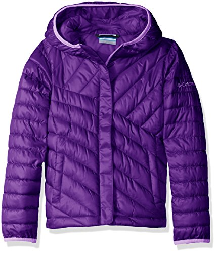 Columbia Big Girls' Powder Lite Puffer, Iris Glow, Small (Down Jacket Kids compare prices)