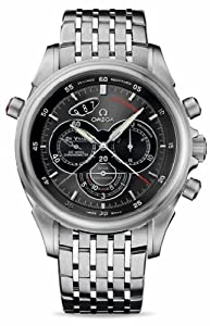 NEW OMEGA DeVILLE RATTRAPANTE MENS WATCH 422.10.44.51.06.001