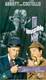 Abbott And Costello Meet The Invisible Man [VHS]