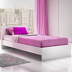 Stellar Home Eva Twin Platform Bed Bedroom Furniture Modern Design And