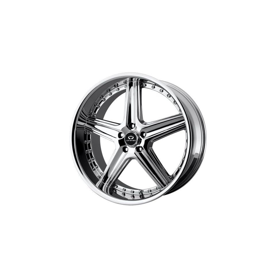 18x8 Lorenzo WL19 (Chrome) Wheels/Rims 5x112 (WL01988057232)