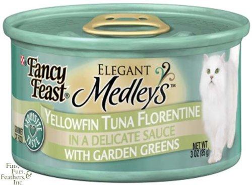 Purina Fancy Feast Elegant Medleys Yellowfin Tuna Florentine