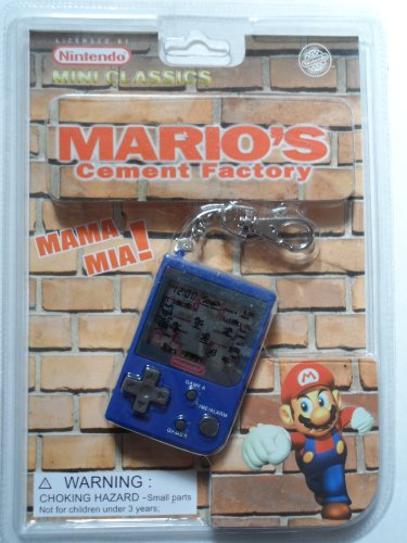 1998-nintendo-mini-classics-marios-cement-factory-hand-held-game-w-attached-keychain