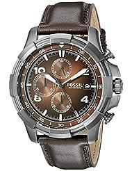 Fossil Dean Analog Brown Dial Men's Watch - FS5113