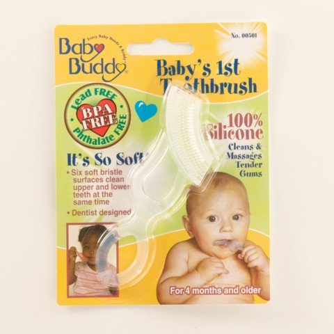 Baby Buddy Baby'S 1St Toothbrush, Clear front-891981