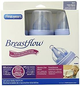 Breastflow 9 oz BPA-Free Bottle (3-Pack)