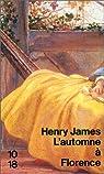 L'Automne à Florence, tome 2 par James