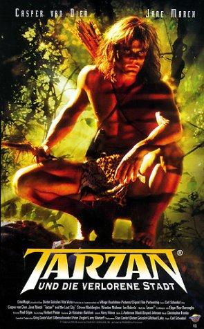 Tarzan und die verlorene Stadt [VHS]