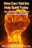 img - for How Can I Get the Holy Spirit Today: 100% Way to the Baptism - Key to Gifts and Power (New Believer's Bible Study Guide) (Volume 1) book / textbook / text book