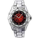 New Fashion WE170 Game of Thrones House Targaryen Fire Blood Stainless Steel Wrist Watch