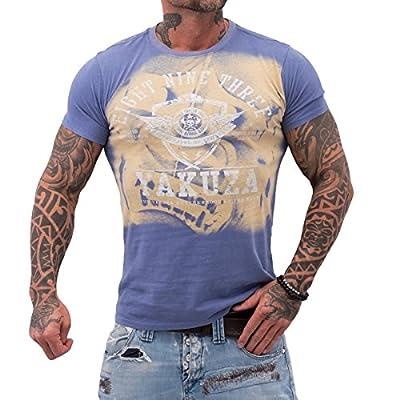 Yakuza ORIGINAL T-Shirt TSB 611 - velvet morning moonwashed
