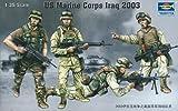 Trumpeter 00407 Modellbausatz US Marine Corps Irak 2003