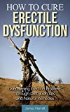 How to Cure Erectile Dysfunction: Overcoming Erection Problems through Diet, Exercises, and Natural Remedies (Erectile Strength, Mens Health, Impotence, ... Health, Natural Cures, Sexual Problems, ED)
