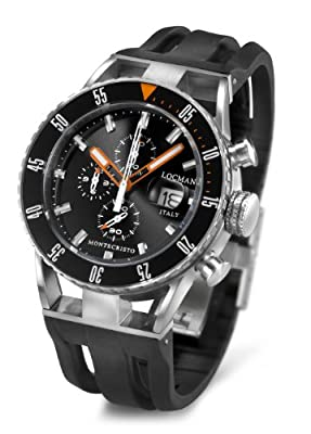 Locman Montecristo Professional Divers' Chronograph from Locman Italy