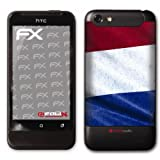 atFoliX Fuball 2012 Niederlande Flagge Designfolie fr HTC One Vvon &#34;Displayschutz@FoliX&#34;