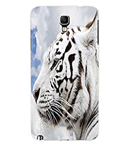 ColourCraft White Tiger Look Design Back Case Cover for SAMSUNG GALAXY NOTE 3 NEO DUOS N7502