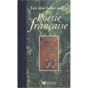 plus belles pages poesie française