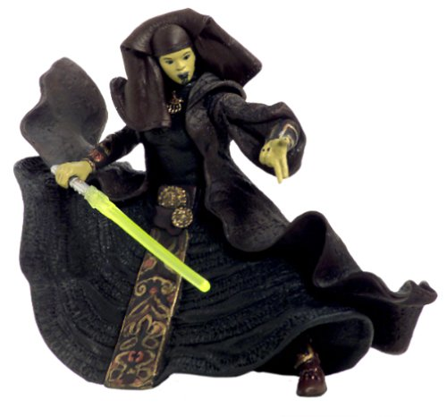 Star Wars Attack of the Clones Action Figure #26 - Luminara Unduli (Jedi Master)