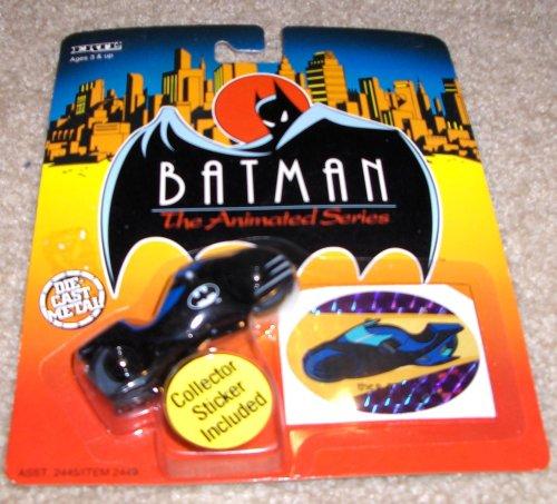 Batman The Animated Series Die Cast Metal The Batcycle Vehicle - 1