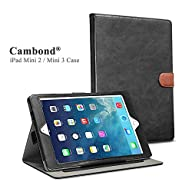 iPad Mini Case, Apple iPad Mini 2 Case, iPad Mini 3 Case Cover, Cambond® Ultra Slim / Light Weight…