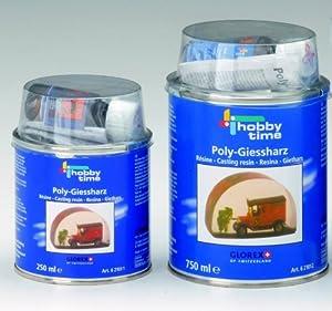Poly-Glass-Resin (Giessharz) mit PGR-Härter 750 ml
