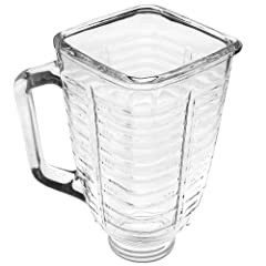 5-Cup Glass Square Top Blender Jar
