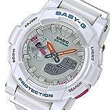 カシオ ベビーG フォーランニング クオーツ レディース 腕時計 BGA-185-7A ホワイト 逆輸入