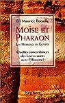 Mo�se et pharaon par Bucaille