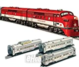 51NRWiegdnL. SL160  Best Price on Williams by Bachmann Trains   Texas Special F3 AB and 3 O 27 Pass Cars Train Set  Reviews