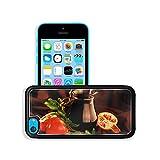 MSD Premium Apple iPhone 5C Aluminum Backplate Bumper Snap Case IMAGE ID: 7753401 Pomegranate juice in a jug still life