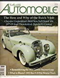 img - for Collectible Automobile: Vol. 26, No. 1: The How and Why of the Buick Y-Job (June 2009) book / textbook / text book