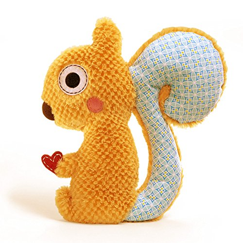 "Gund Baby Clayton Happi Squirrel 13"" Plush by Dena Design - 1"