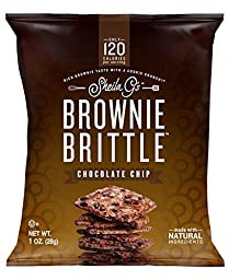 Sheila G\'s Brownie Brittle Chocolate Chip Pack of 16 - 1 Oz Each